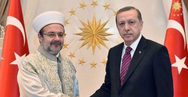 Erdoğan: Diyanet İşleri Başkanı çok üzülmüş, eve yaya gitmiş!