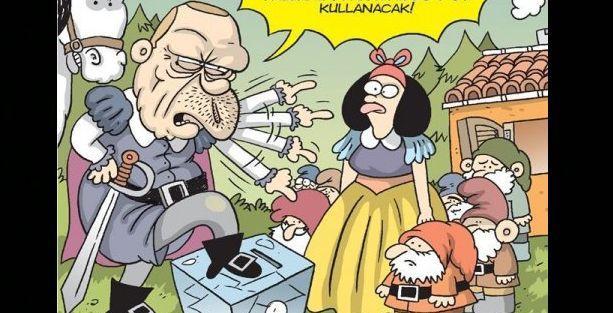 Erdoğan Gırgır'ın kapağında 'herkesi kucaklıyor'