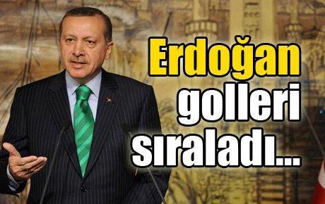 Erdoğan golleri sıraladı…