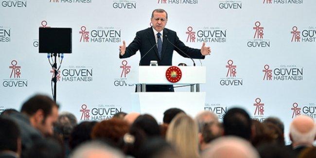 Erdoğan'dan GSS'nin 'öyküsü': Turistler bana 'Bu sağlık reformunu Obama'ya da anlatın' dedi