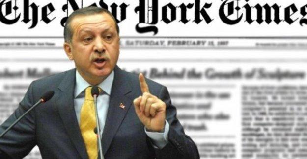Erdoğan'ın hedef aldığı New York Times, Ermeni katliamlarını böyle görmüştü