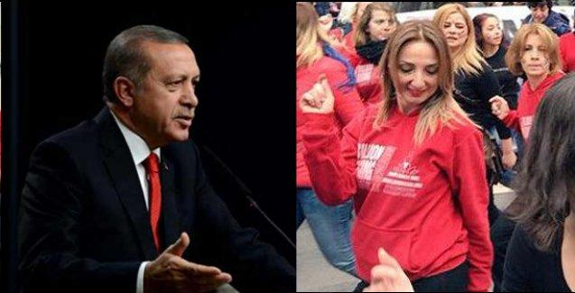 CHP'li vekilden Erdoğan'a dans cevabı