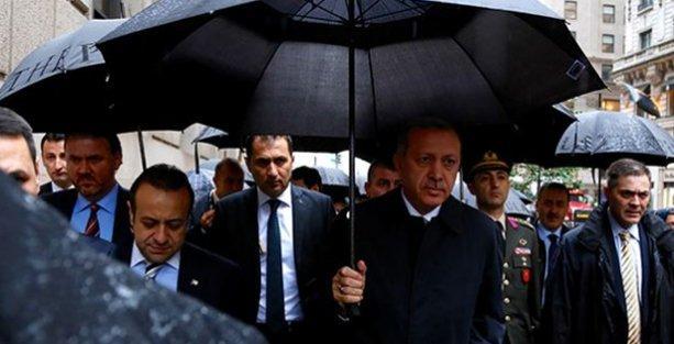 Erdoğan New York'ta protesto edildi