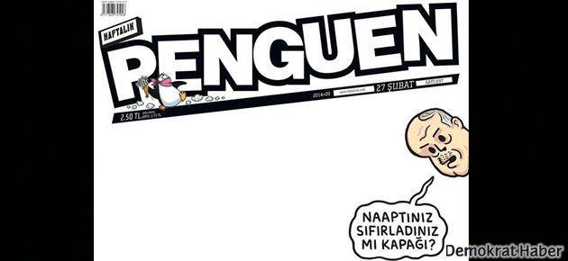 Erdoğan Penguen'de: Naaptınız sıfırladınız mı kapağı?
