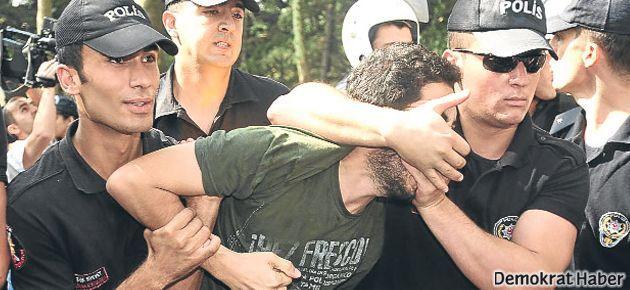 Erdoğan protestosuna 15 ay hapis