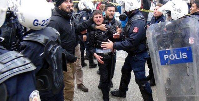 Erdoğan protestosuna polis saldırısı: Çok sayıda gözaltı var