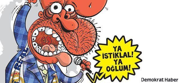 Erdoğan: Ya İstiklal ya oğlum!