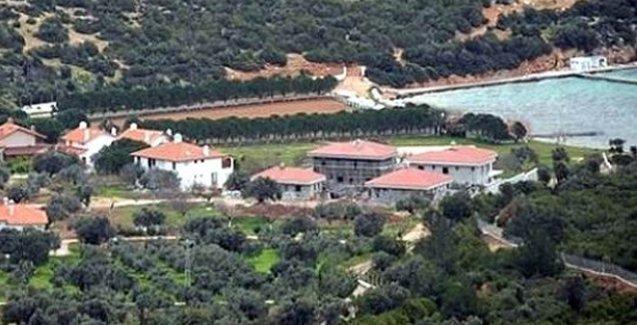 Erdoğan'a ait olduğu iddia edilen Urla villaları için yeni düzenleme