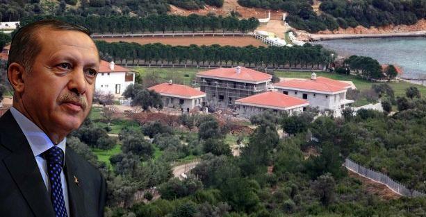 Erdoğan'a hediye edildiği öne sürülen Urla villaları hakkında takipsizlik kararı
