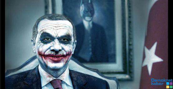 Erdoğan'a Joker benzetmesi!