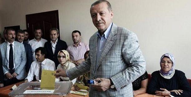 Erdoğan'dan sandık başında 2071 mesajı