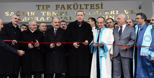 Erdoğan'dan yeni istek: Kampüs yerine külliye diyelim