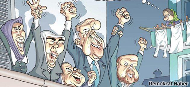 Erdoğan'ın balkon konuşması Penguen kapağında