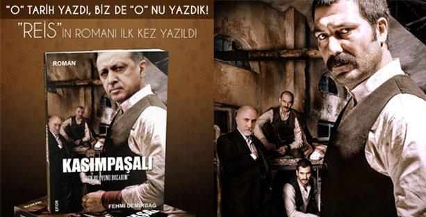 Erdoğan'ın gençliğini anlatan 'Kasımpaşalı' romanının kapağı çalıntı çıktı