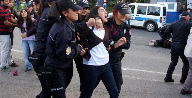 Erdoğan'ın katılacağı tören öncesi 22 öğrenci gözaltına alındı