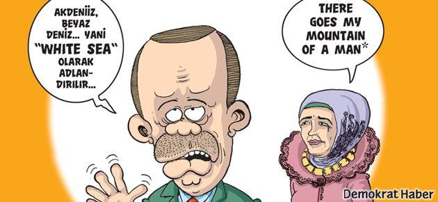 Erdoğan'ın White Sea ifadesi Leman'a kapak oldu!