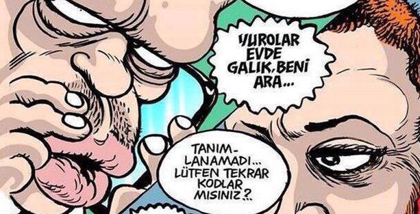 'Erdoğanlar'ın telefon konuşması Leman'da
