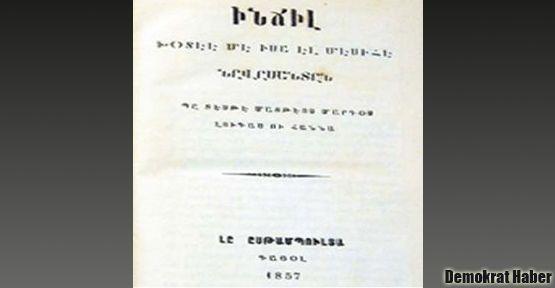 Ermeni harfleriyle yazılan 150 yıllık Kürtçe İncil
