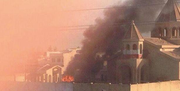 Ermeni Kilisesi bombalandı