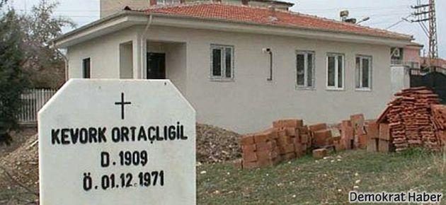 Ermeni Mezarlığı'ndaki yanlışlık telafi edildi