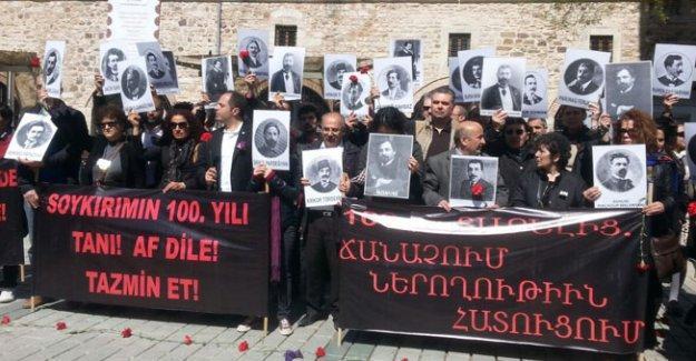 Ermeni Soykırımı İstanbul'da anıldı