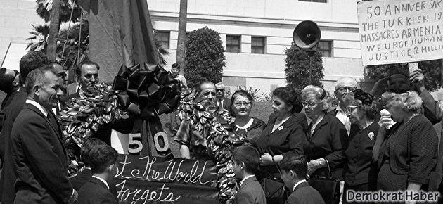 Ermeni Soykırımı'nın 50. yıldönümünde  yaşananlar