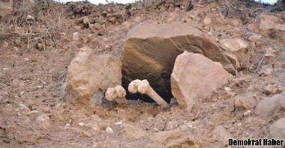 Ermenilere ait mezarlar ortaya çıktı