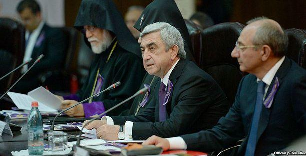 Sarkisyan yeni Türkiye Cumhurbaşkanı'nı Ermenistan'a davet etti