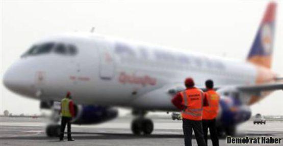 Ermenistan uçağı da Erzurum'a indirildi