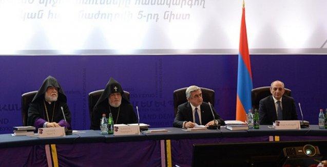 Ermenistan ve Diaspora'dan ortak deklarasyon
