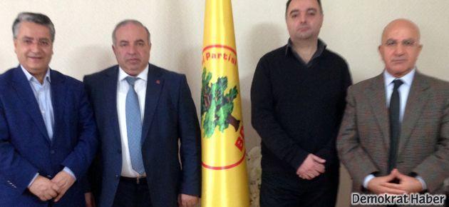 Ermenistanlı temsilciler BDP'yi ziyaret etti