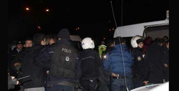 Erzurum'da 50'yi aşkın öğrenci gözaltına alındı