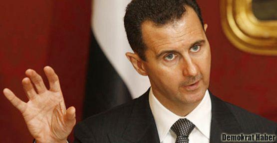 Esad: Batı, Suriye'ye müdahalede bulunamaz