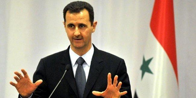 Esad'dan açıklama: Suriye'nin bazı bölgelerine doğrudan müdahale ediliyor