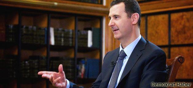 Esad: Silahları yok etmek bir yıl sürer