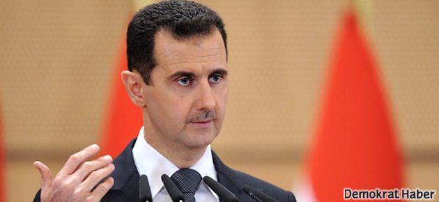 Esad'dan 'kimyasal silah' açıklaması
