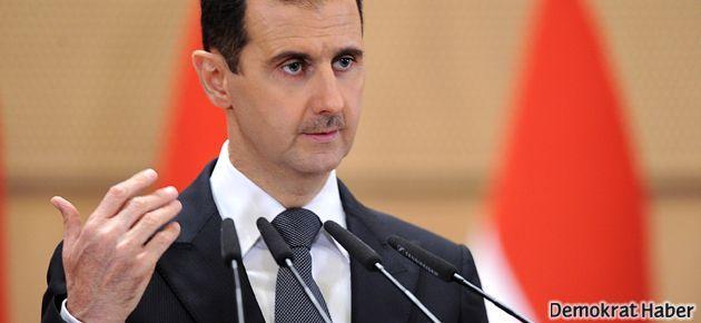 Esad'dan Papa'ya özel mesaj