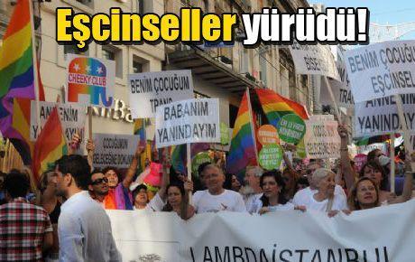 Eşcinsellerin yürüyüşüne vekil desteği