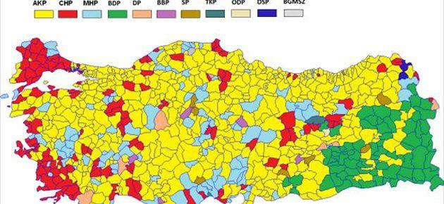 Eski 'Ermeni şehirleri'nde seçimi kim kazandı?