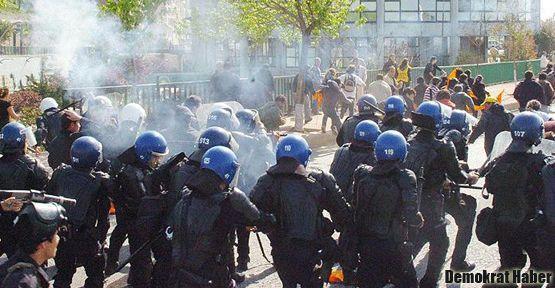 Eskişehir'de de öğrencilere müdahale