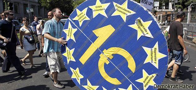 Euro Bölgesi'nde rekor işsizlik