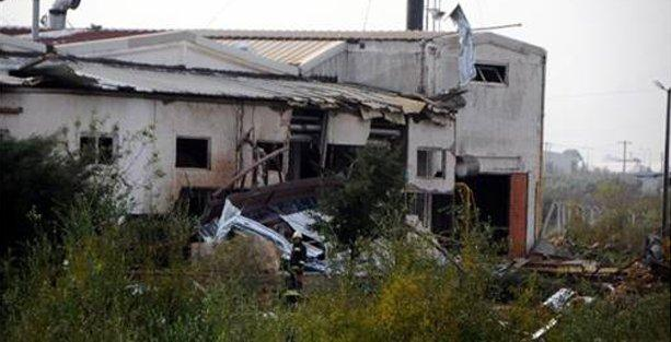 Fabrikadaki patlamada 2 kadın işçi öldü
