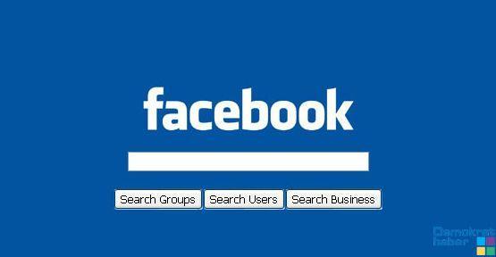 Facebook arama motoru oluyor!
