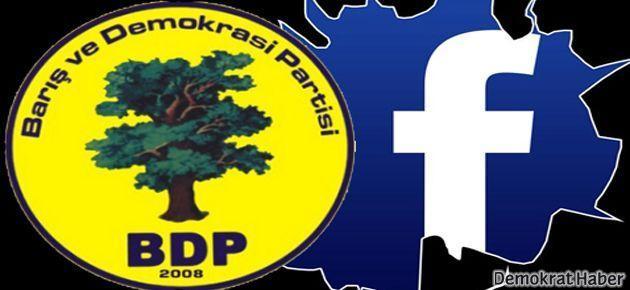 Facebook, BDP Genel Merkez sayfasını kapattı