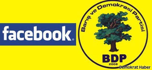 Facebook BDP İstanbul İl Örgütü'nün sayfasını kapattı