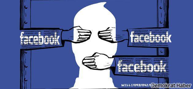 Facebook sansürüne karşı kampanya