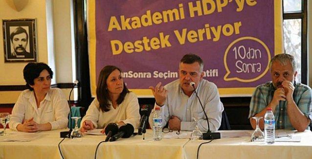 Farklı siyasi görüşlerden 436 akademisyenden HDP'ye destek