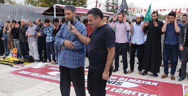 Fatih'te IŞİD için cenaze namazı