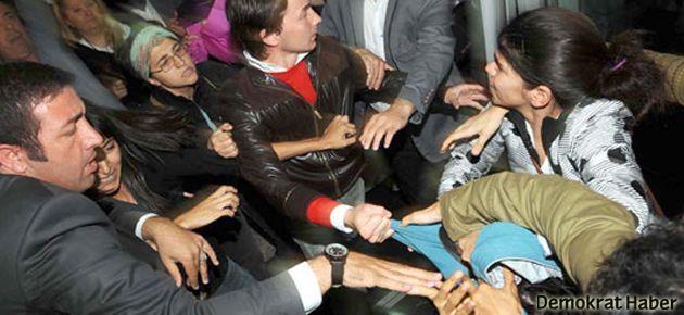 Fatma Şahin'in korumaları kadınlara saldırdı