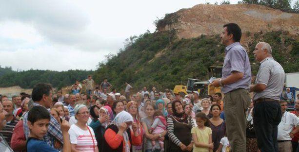 Fatsalı köylüler: Siyanür istemiyoruz, doğamızı yok etmesinler!